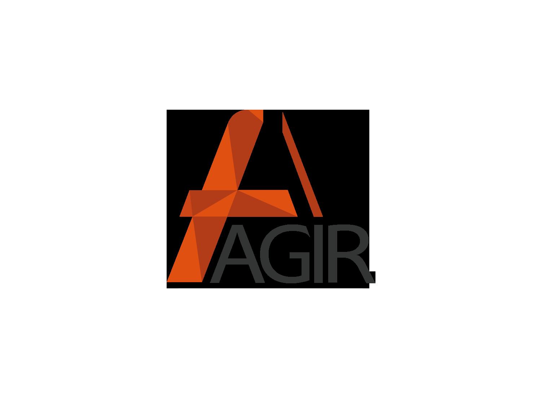AGIR création de logo Roanne Bordeaux loic hermer Graphiste Webdesigner