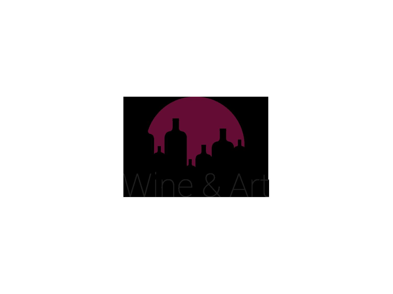 logo Wine & Art Bordeaux loic hermer Graphiste Webdesigner