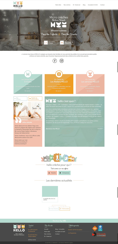 Creation site internet Bordeaux loic hermer Graphiste Webdesigner